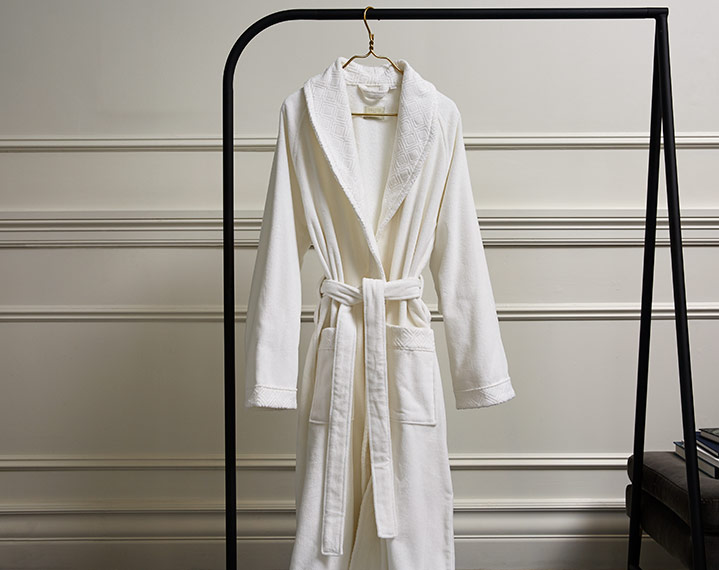 Frette 1860 For St Regis Velour Robe St Regis Boutique