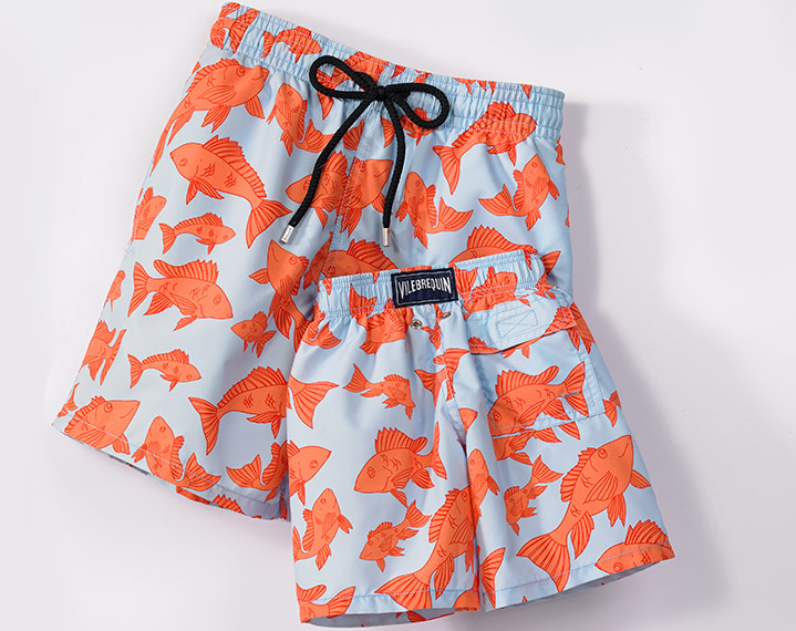 Vilebrequin Red Snapper Swimwear - Boys