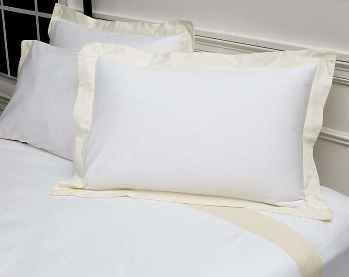 Champagne Pillow Shams