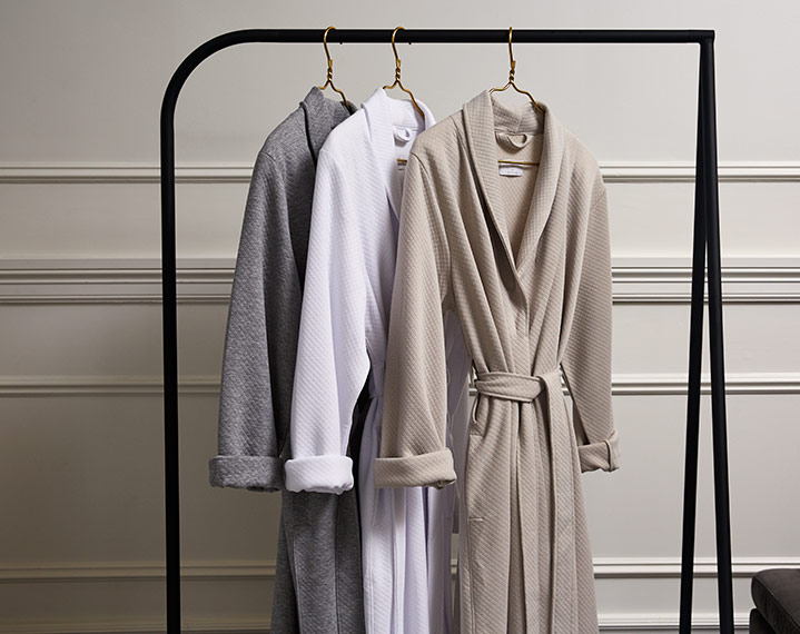 Frette 1860 For St. Regis Diamond Jersey Robe