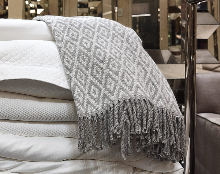 Frette 1860 For St Regis Diamond Throw St Regis Boutique Hotel Store