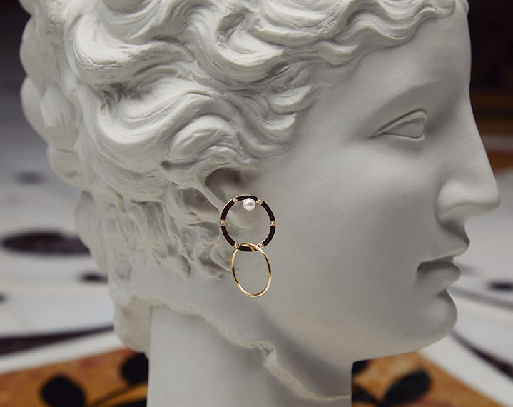 Earrings by Delfina Delettrez