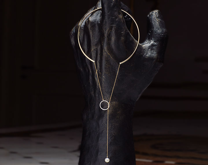 Necklace by Delfina Delettrez